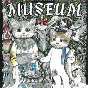 MUSEUM - Yuko Higuchi Coloring book - Japanese art book