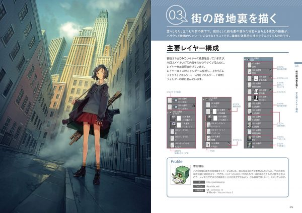 How to draw attractive backgrounds - Seiji Yoshida-Aki Yoshikawa-Denki-ZENJI
