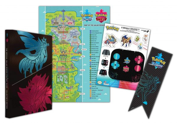 Pokémon Sword & Pokemon Shield-The Official Galar Region Strategy Guide-Collector's Edition