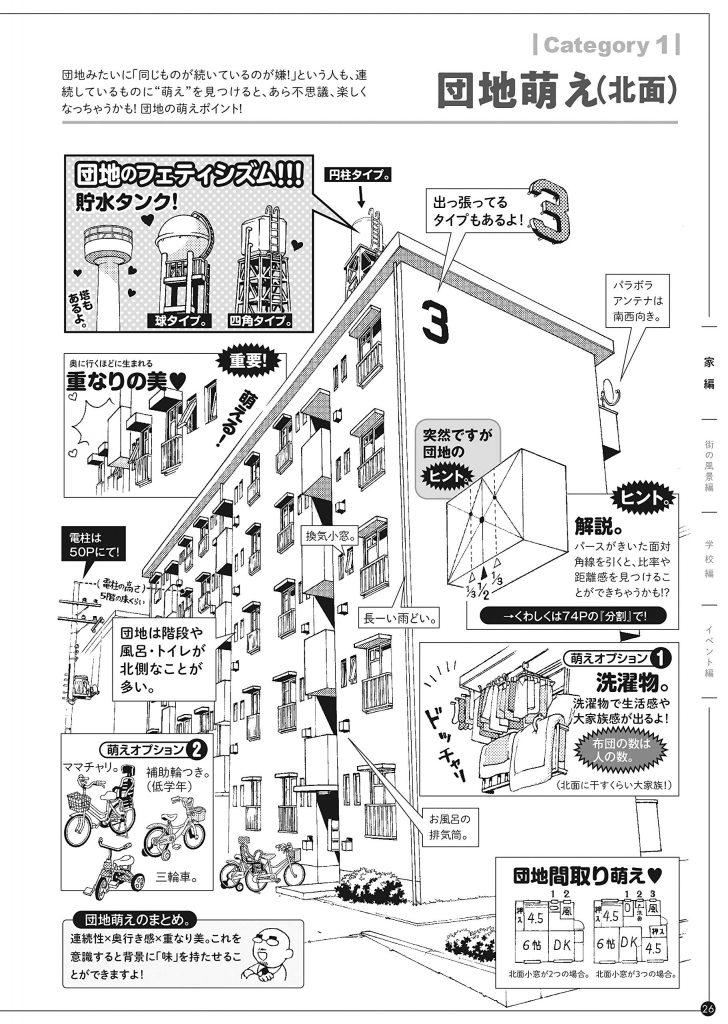MAEDAX's Background Moe! - Japanese manga