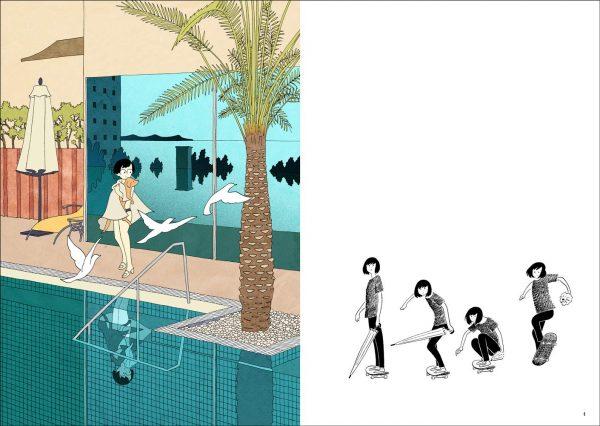 Tsuchika Nishimura Art book - Japanese manga