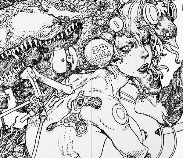 KATSUYA TERADA REAL SIZE - Japanese Illustration Book