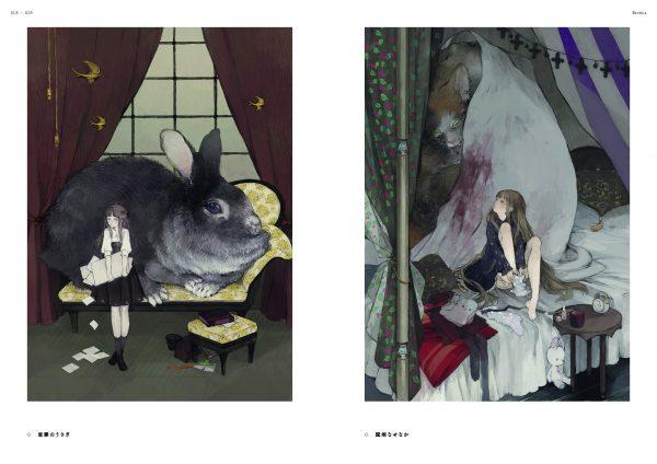 Soirée - Art collection of nekosuke - Japanese illustration book