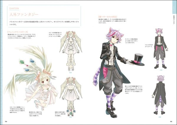 How to draw a fantasy costume by Mokuri - Japanese Illustration Book
