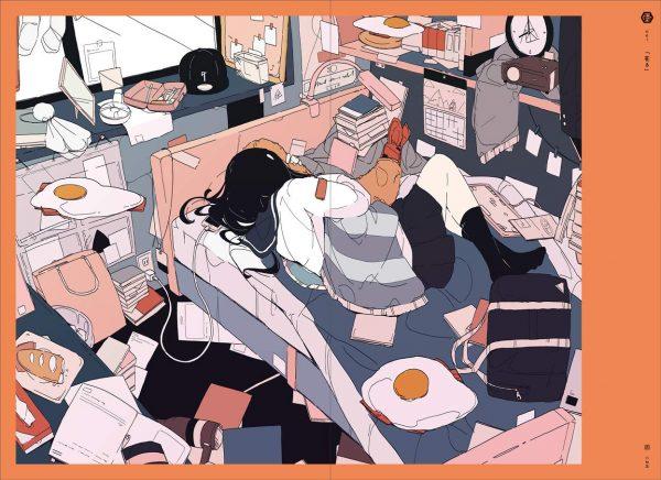 USHIMITSUDOKI - The Art of DaisukeRichard - Japanese illustration book