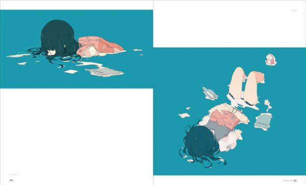 Aquarium(SUISOU) - Daisuke Richard Making & Works Art Book - Japanese illustration book