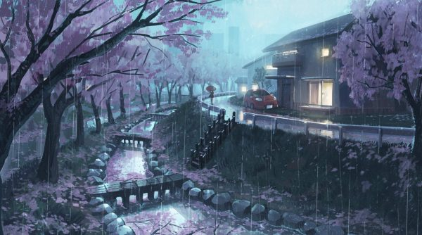 How to draw the background - from basics to practice - Japanese Illustration Book