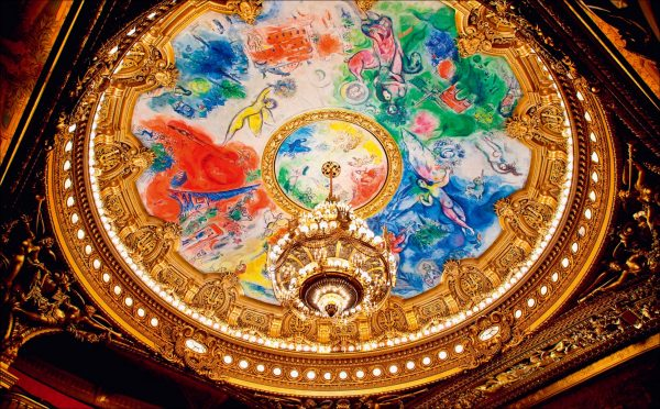 The world of beautiful ceiling paintings and ceiling decorations