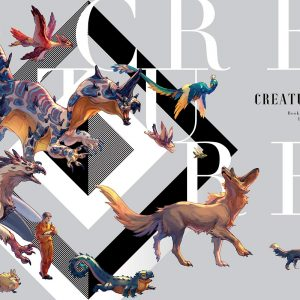 CREATURES Book of paintings - Le Yamamura