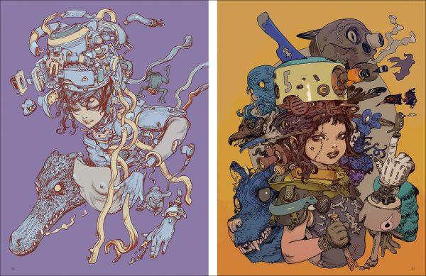 "[MAGAZINE] Illustration Note Premium: Special Feature: ""Katsuya Terada, 500 Days."""