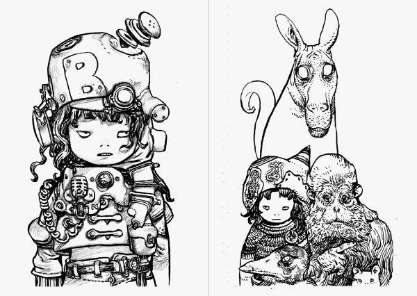 SKETCH - Katsuya Terada Art works - Japanese illustration book