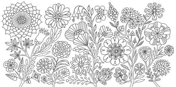 Forest Kingdom - Toshiyuki Fukuda Coloring Book
