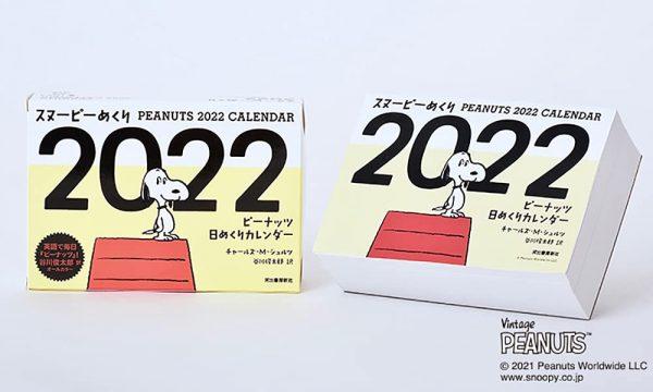 SNOOPY - PEANUTS 2022 Daily Calendar